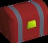 Sandy Casket (red) detail
