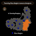 Taverley blue dragon resource dungeon map.png