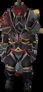 Veteran behemoth armour equipped (female)