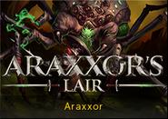 Araxxor's lair lobby banner