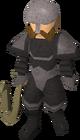 Black Guard crossbowdwarf male old