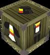 Black heraldic armour set 2 (lg) detail
