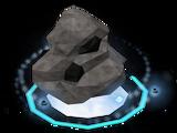 Divine coal rock