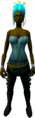 Feather headdress (charged) (yellow) equipped.png