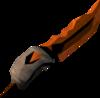 Flameburst defender detail