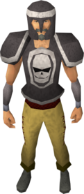 Khazard armour equipped