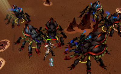 Killing exiled kalphite paragons