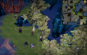Scan clue Heart of Gielinor south-west of entrance platform