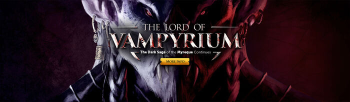 The Lord of Vampyrium head banner