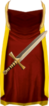Attack cape detail