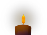 Candle (dark purple)
