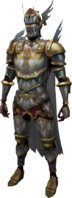 Defender of the Mind Outfit equipped (male)
