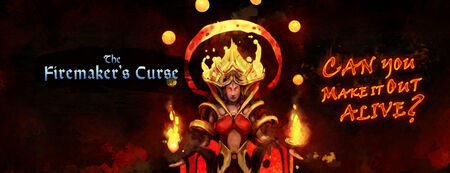 Firemaker's curse banner