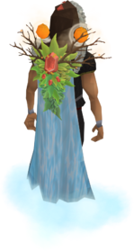 Gatherer's cape equipped