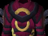 Imphide robe top