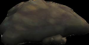 Manure mound