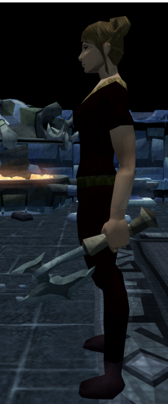 File:Off-hand kratonite battleaxe equipped.png