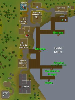 Porto Sarim mapa