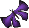 Purple soporith moth detail
