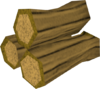 Arctic pyre logs detail