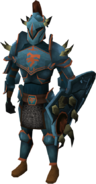 Bandos armour set (lg) equipped