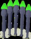 Emerald bolts detail