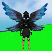 Gossamer Wings equipped