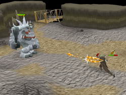 Ice troll king fight