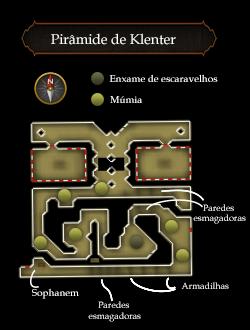 Pirâmide de Klenter mapa