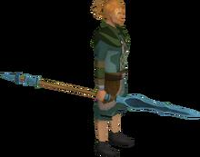 Rune hasta equipped