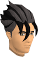 Shadow Ozan's hair chathead (male)