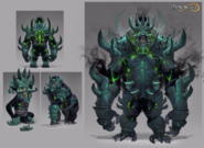 Shadow gorilla concept art