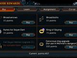 Slayer points