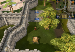 Compass clue Varrock south of two palace fountains