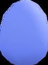Bird's egg (blue) detail