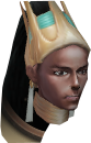 Comandante Akhomet (Imperial) cabeça