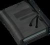 Investigator's notebook (Missing, Presumed Death) detail