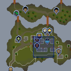 Mawnis Burowgar mapa