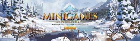 Minigames Winter Weekend head banner