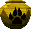 Strong hunter urn (unf) detail