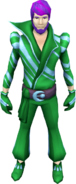 Super disco outfit (male) equipped