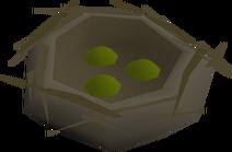 Bird's nest (seed) detailed