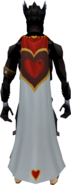 Cape of Hearts equipped