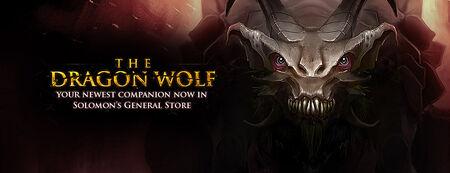 Dragon Wolf banner