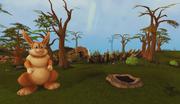 Easter Bunny's burrow entrance