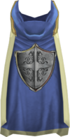 Hooded defence cape (t) detail