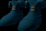 Ranger boots (blue) detail