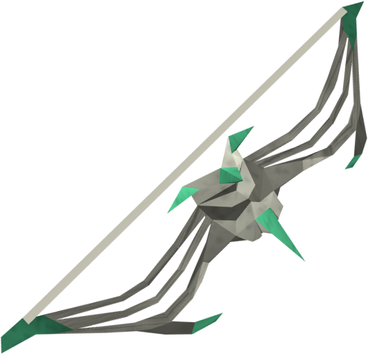 Sagittarian longbow detail