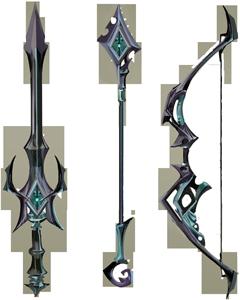 Starfire weapons concept art
