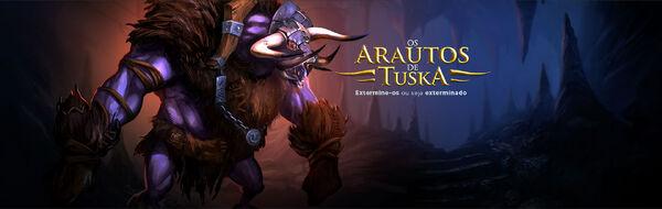Banner dos Arautos de Tuska